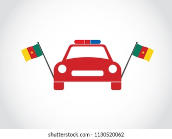 Cameroon State Police Cop