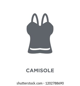 Camisole icon. Camisole design concept from Camisole collection. Simple element vector illustration on white background.
