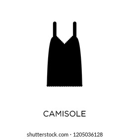 Camisole icon. Camisole symbol design from Clothes collection. Simple element vector illustration on white background.