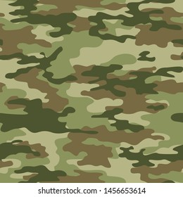 camouflage military pattern seamless vector