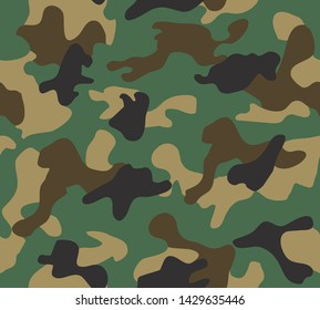 Camouflage pattern design. Camo background.