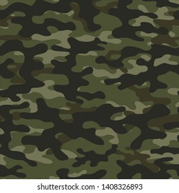 camouflage pattern military seamless vector