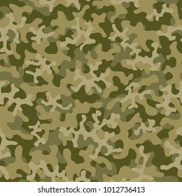 Camouflage pattern. Seamless. Military background. Soldier camouflage. Abstract seamless pattern for army, navy, hunting, fashion cloth textile. Colorful modern soldier style. Vector facric texture