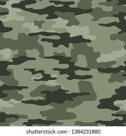 Camouflage seamless military pattern.Print on fabric on paper,on textiles.Abstraction.Vector