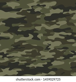 camouflage seamless pattern military vector