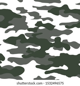 Camouflage skin seamless military textile products Background Pattern Vector illustration