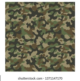 Camouflage War Pattern Vector illustration