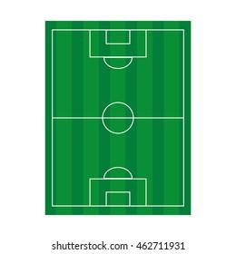 camp field soccer icon vector illustration design