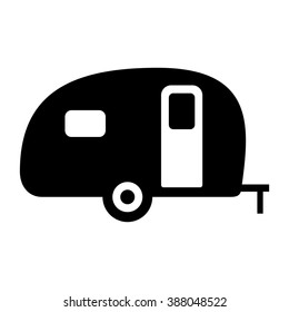 Camper Silhouette Images Stock Photos Vectors