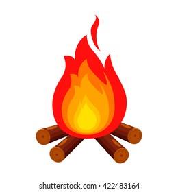 Campfire icon.