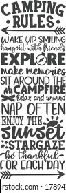 Camping rules | Camping quotes