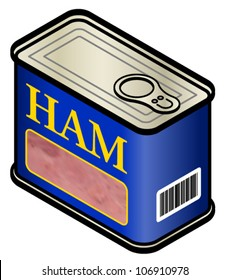 A can of ham.