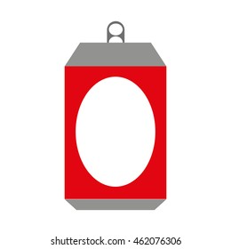 can metal bottle icon vector illustration design