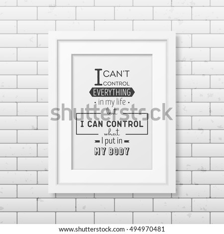 Can Not Control Everything My Life Stock Vector (Royalty Free ...