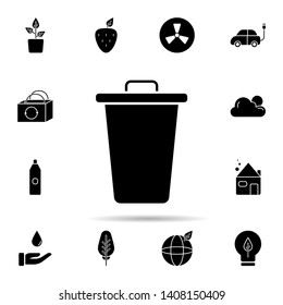 Can, recycle, trash icon. Universal set of ecology for website design and development, app development