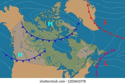 Meteorology Map Images, Stock Photos & Vectors | Shutterstock