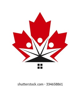 canada and community of people logo