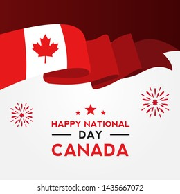 Canada Day Vector Design For Celebrate Moment