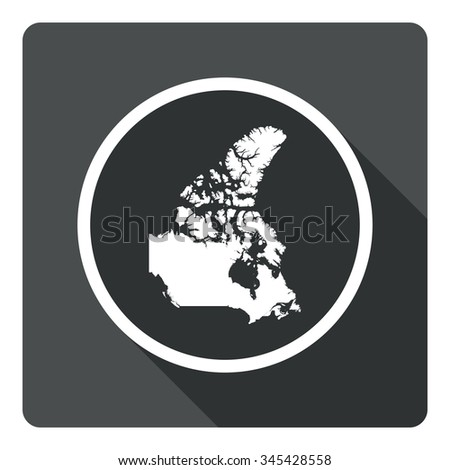 Canada Map Dark Sign Icon Country Stock Vector (Royalty Free ... on map of springfield area, map of surrounding area, map of grande ronde, map of sellwood, map of easley, map of yamhill co, map of chiloquin, map of tiffany, map of cave junction, map of gleneden beach, map of clatskanie, map of tucson, map of maupin, map of rogue community college, map of west columbia, map of marylhurst university, map of troutdale, map of hayward field, map of john day fossil beds, map of lane county fairgrounds,