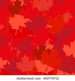 Canada red lead back background vector