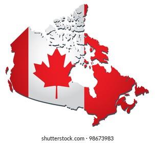 Canada vector flag