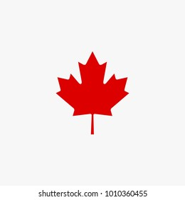 Canadian mapple vector illustratio, Mapple leaf vector isolated on white background