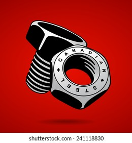 canadian steel nut and bolt
