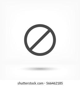Cancel Icon, Vector