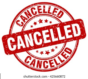 cancelled. stamp