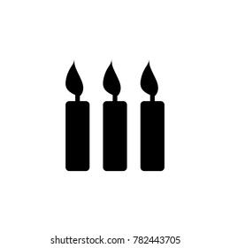 Candle icon/ birthday party