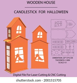 candlestick for laser cutting and cnc cutting.After downloading, right-click on any shape and select ungroup and enjoy the laser cut file