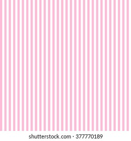Candy Colours pink and white seamless stripes