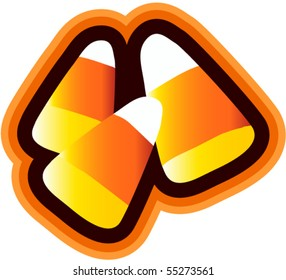 Candy Corn Isolated