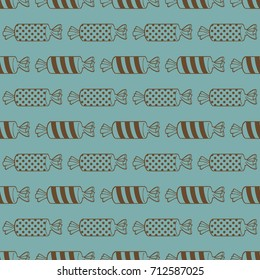 Candy seamless vector pattern pattern