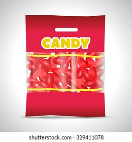 candy strawberry bag