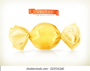 Candy, vector illustration
