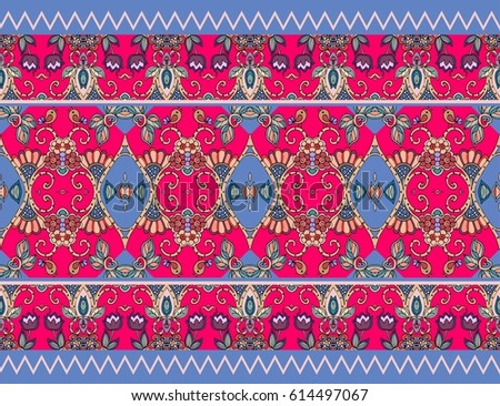 Candy Wrap Vector Template Beautiful Floral Stock Vector Royalty