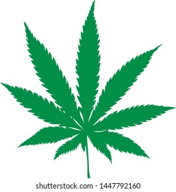 Cannabis concept design of vector.