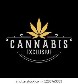 Cannabis Exclusive Logo Design