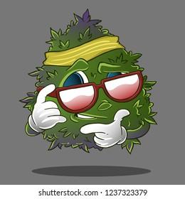cannabis leaf kid famous