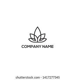 cannabis marijuana hemp cannabidiol cannabinoid logo