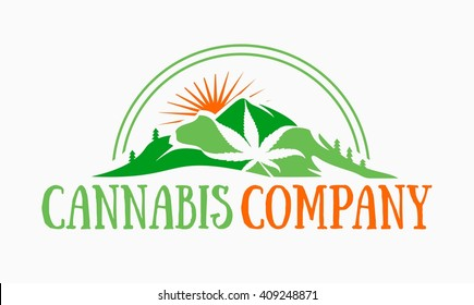 Cannabis and Marijuana Logo