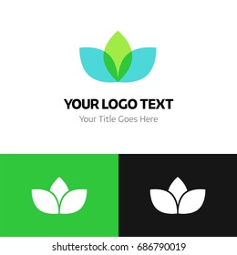 Cannabis Pharm logo template. Logo branding for your new corporate company. File can be use vector eps and image jpg formats