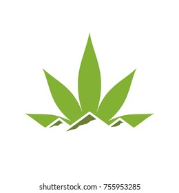 cannabis vector logo