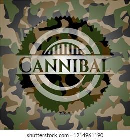 Cannibal camouflage emblem