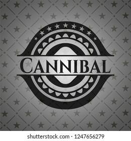 Cannibal realistic dark emblem