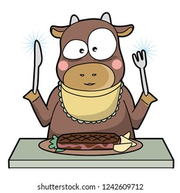 cannibalism - cow - unique type