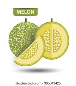 Watermelon Cantaloupe Stock Vectors Images Vector Art Shutterstock Can be identified by excessive consumption of cantaloupe. shutterstock