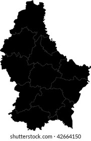 Cantons of Grand Duchy of Luxembourg