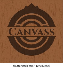 Canvass wooden signboards